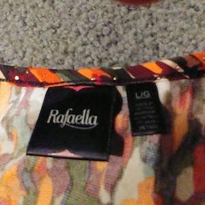 Rafaella Tops - Beautiful fall colored Rafaella studded LG top!